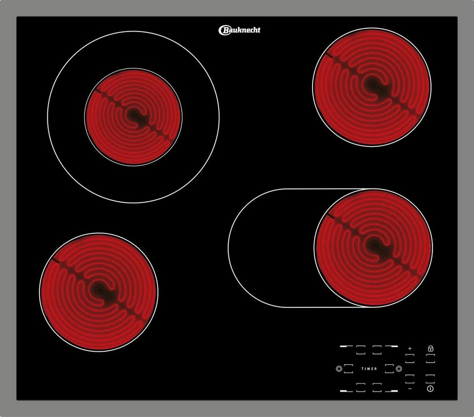 Bauknecht Glaskeramik-Kochfeld CTAR 9642 IN in schwarz