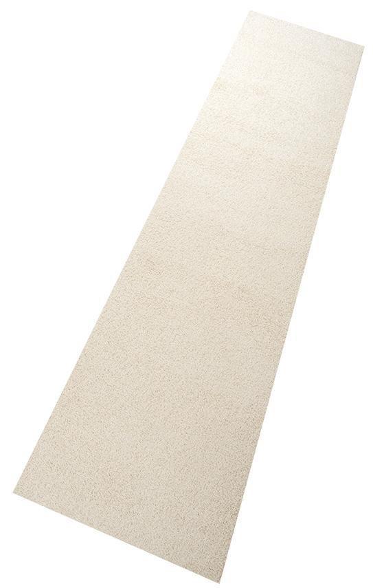Teppich, Living Line, »Shaggy Pulpo«, gewebt, Wunschmaß in creme