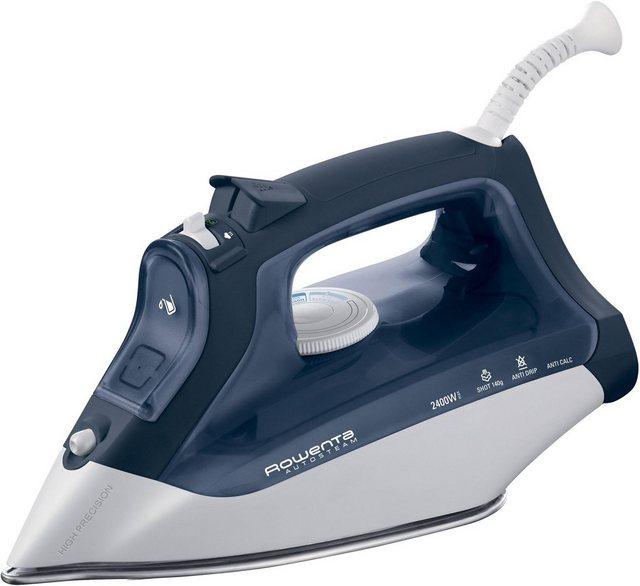 Rowenta Dampfbügeleisen DW4120 Autosteam, 2400 W, mit Microsteam300 Laser Edelstahl Bügelsohle | Flur & Diele > Haushaltsgeräte > Bügeleisen | Rowenta