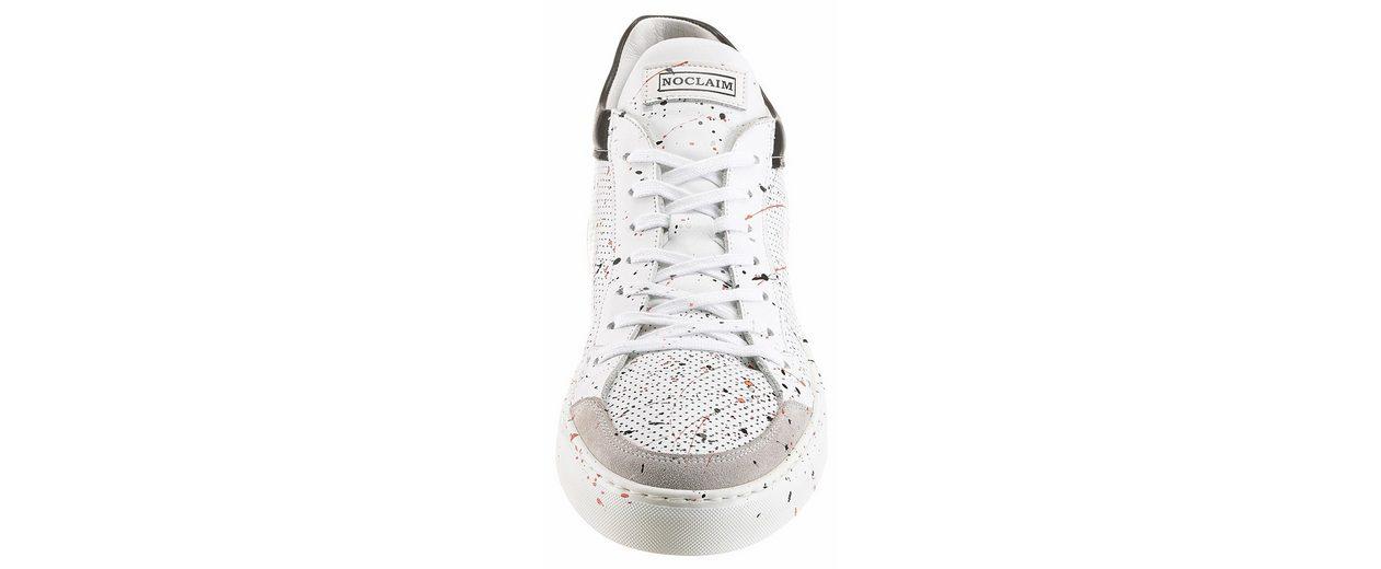 NOCLAIM Low 4 Sneaker, handbemalt, jedes Paar ein Unikat
