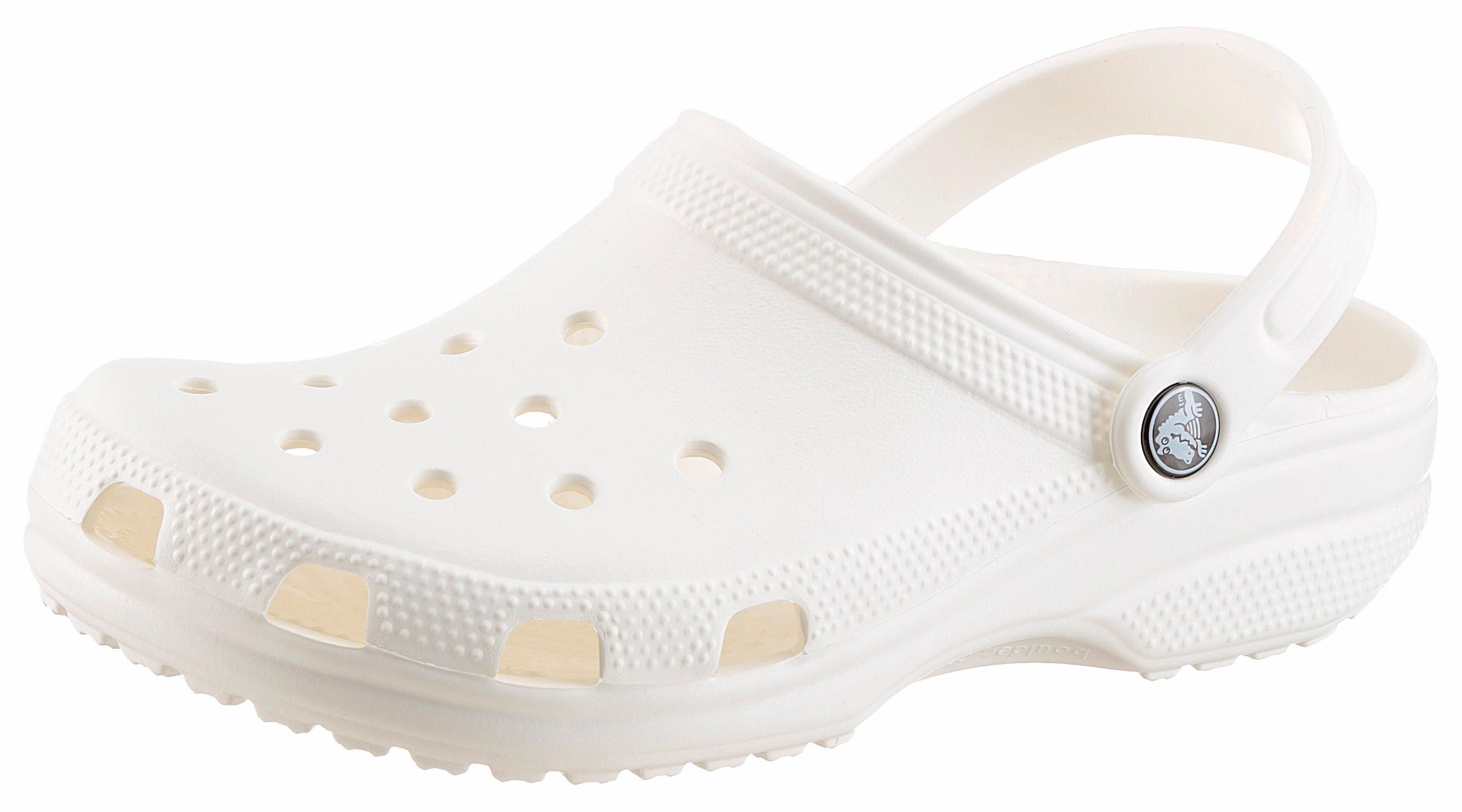 Crocs Classic Clog, mit typischem Logo kaufen  weiß