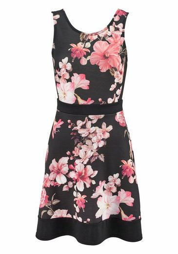 Melrose Jerseykleid, mit Flower-Print