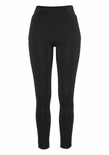 Melrose Leggings With Glitter-piping