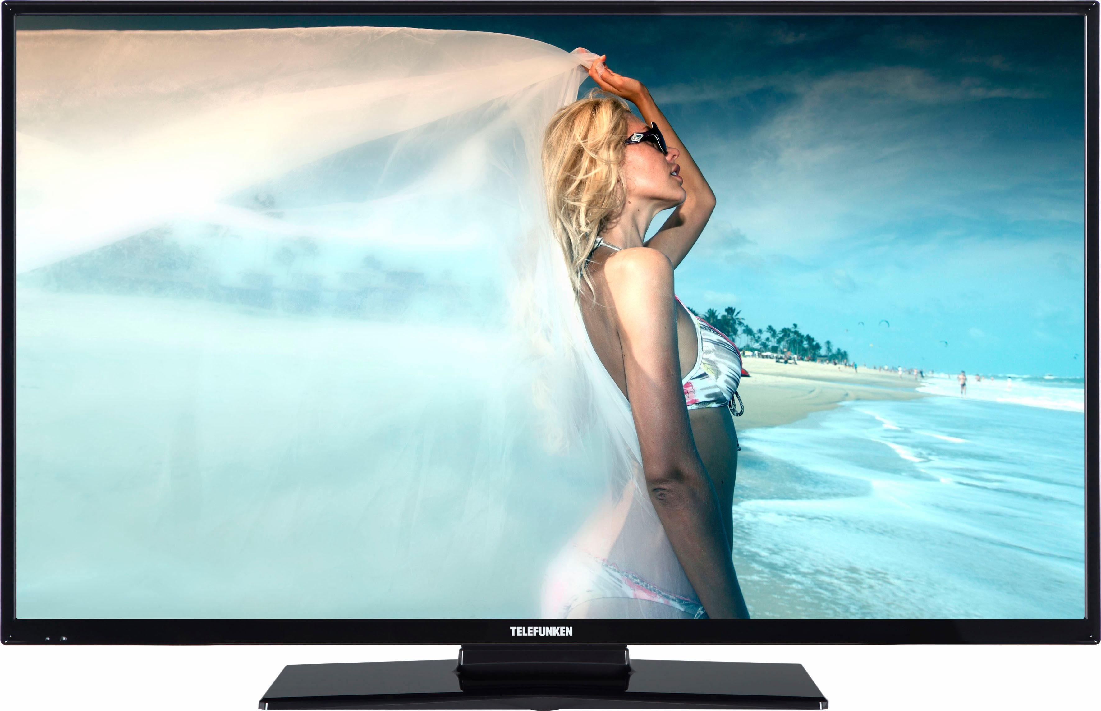 Telefunken D43F287M4CW, LED Fernseher, 110 cm (43 Zoll), 1080p (Full HD), Smart-TV