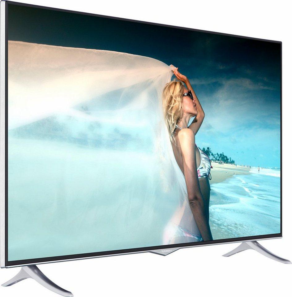Telefunken D43U400M4CW, LED Fernseher, 110 cm (43 Zoll), 2160p (4K Ultra HD), Smart-TV in schwarz