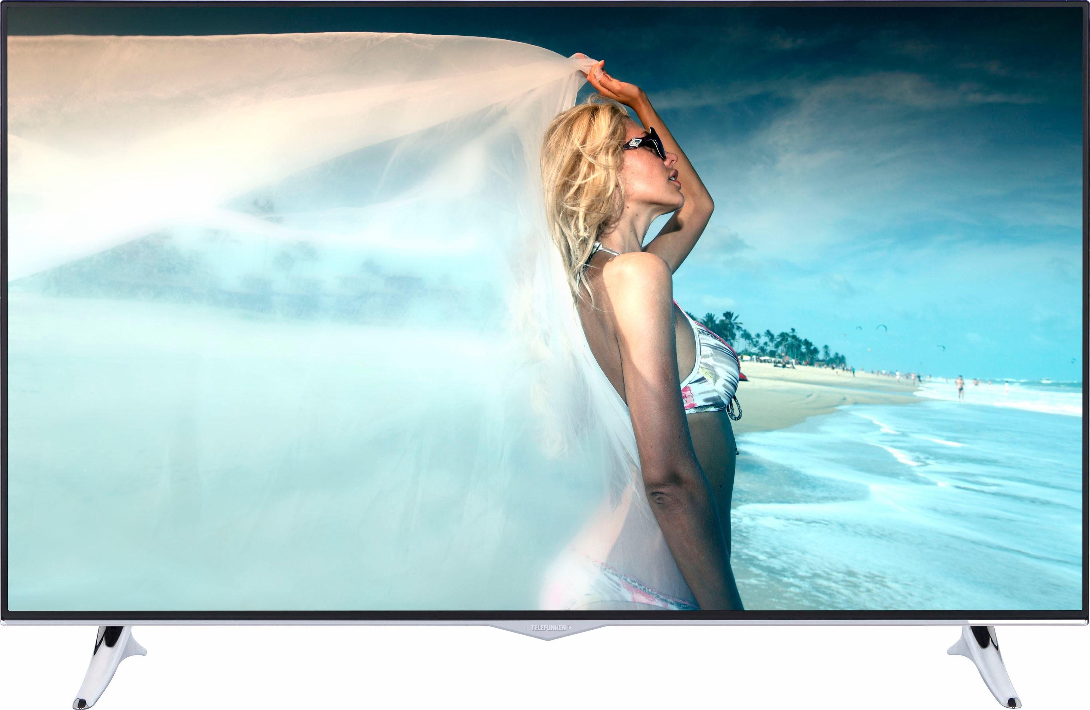 Telefunken D49U400M4CW, LED Fernseher, 124 cm (49 Zoll), 2160p (4K Ultra HD), Smart-TV