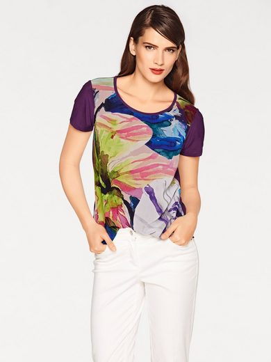 ASHLEY BROOKE by Heine Blusenshirt Blumen
