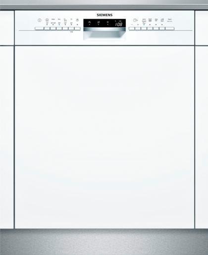 SIEMENS Teilintegrierbarer Geschirrspüler SN536W03ME, A++, 9,5 Liter, 14 Maßgedecke in weiß