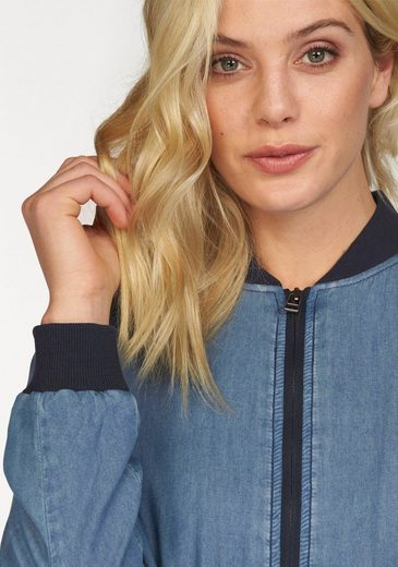 Arizona Blousonjacke, im angesagten Denim-Look