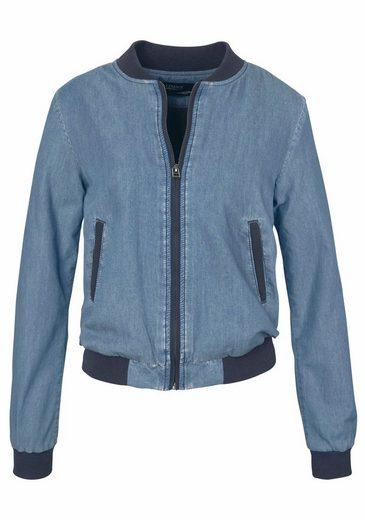 Arizona Blouson Jacket, Denim Look In Trendy