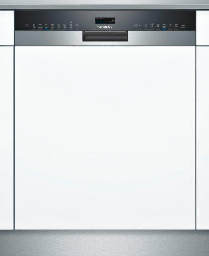 SIEMENS Teilintegrierbarer Geschirrspüler SN558S06TE, A+++, 9,5 Liter, 14 Maßgedecke in silberfarben