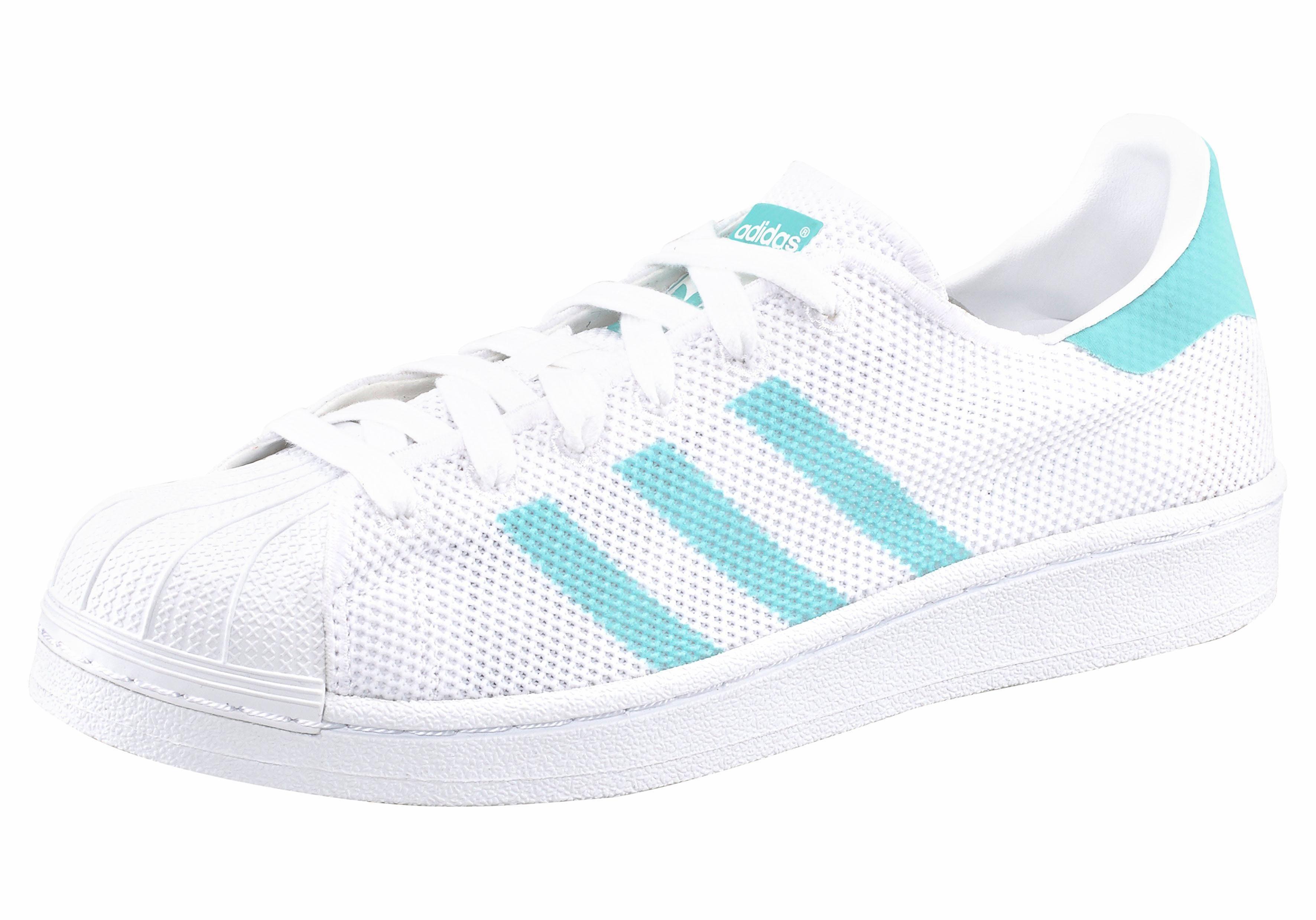 adidas Originals »Superstar« Sneaker, Seasonal, weiß, weiß-bunt