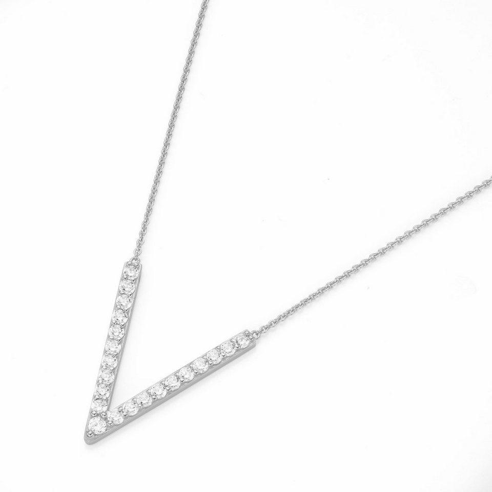 GIORGIO MARTELLO MILANO Silberkette »195138693450« mit Zirkonia in Silber 925