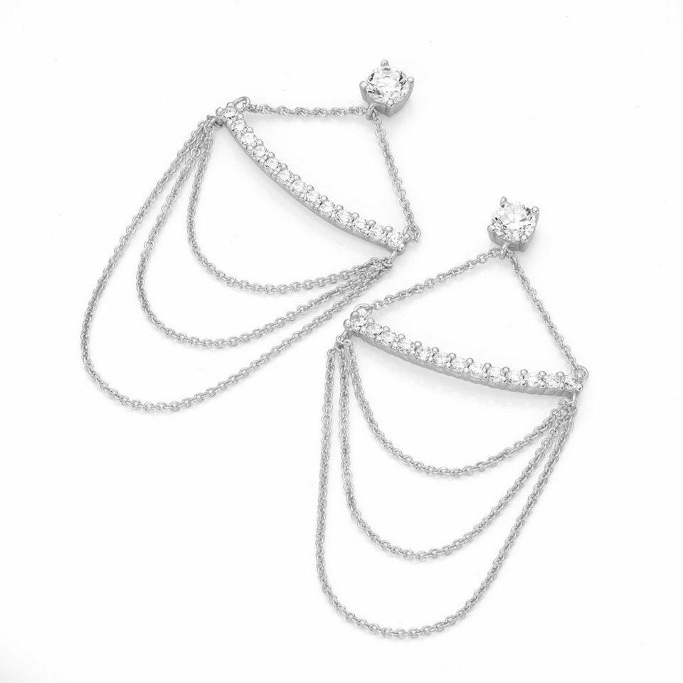 GIORGIO MARTELLO MILANO Paar Ohrhänger »195141493« mit Zirkonia in Silber 925
