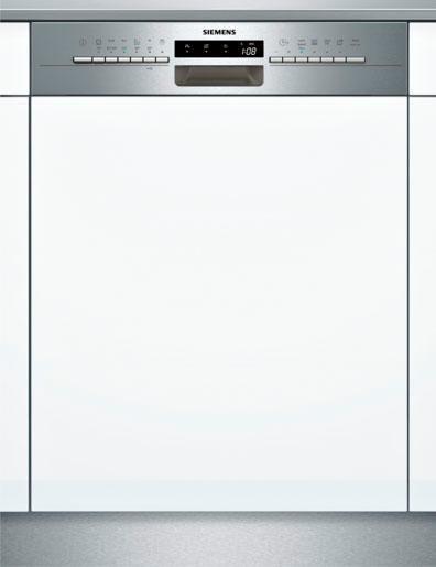 SIEMENS Teilintegrierbarer Geschirrspüler SX536S03ME, A++, 9,5 Liter, 14 Maßgedecke in silberfarben