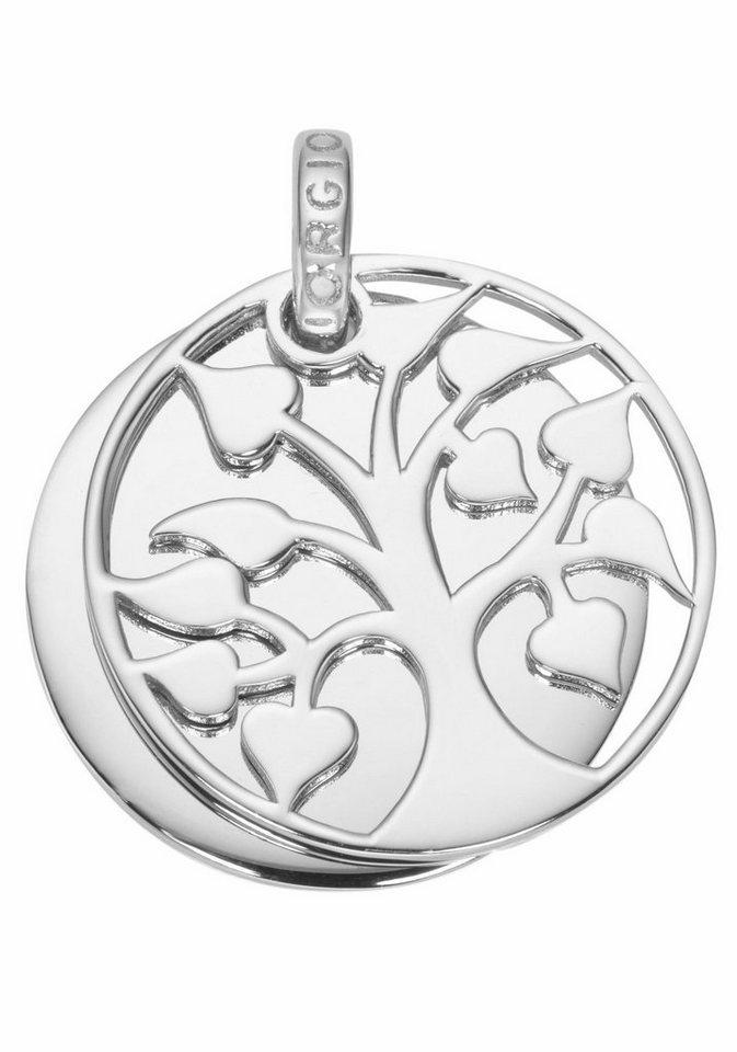 GIORGIO MARTELLO MILANO Kettenanhänger »Lebensbaum, 195125893« in Silber 925