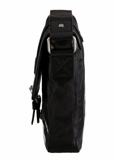 Petrolio Shoulder Bag, Crossbody Bag Made Of Soft Leather
