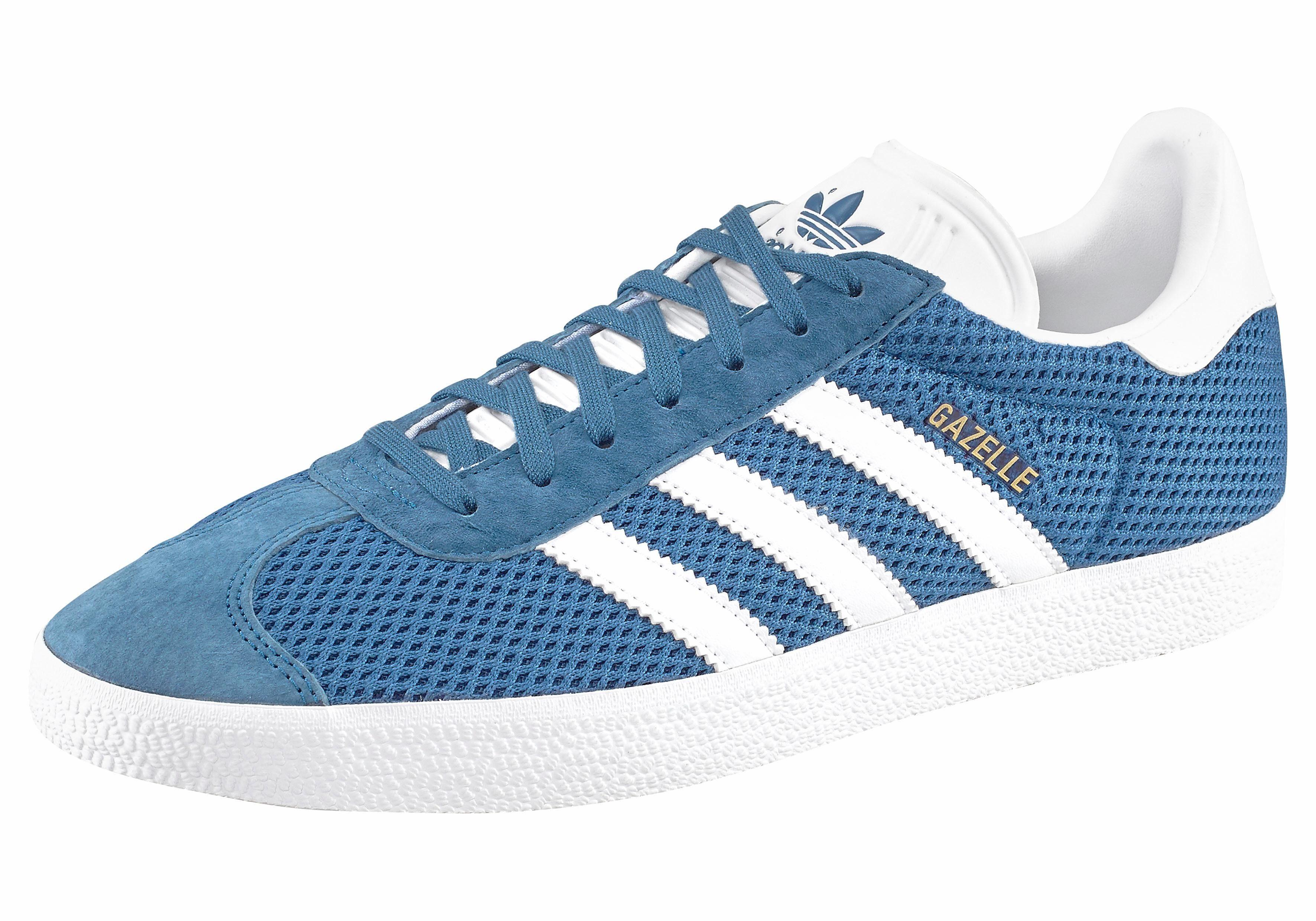 adidas Originals Gazelle Sneaker online kaufen  blau-weiß