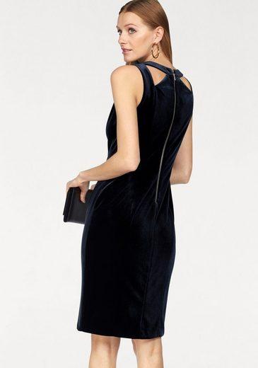 Siena Studio Abendkleid, mit Cut-Out aus schimmerndem Samt