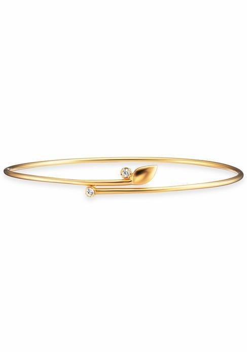 CAÏ Armband »C1736B/90/93« mit Topas in Silber 925-goldfarben