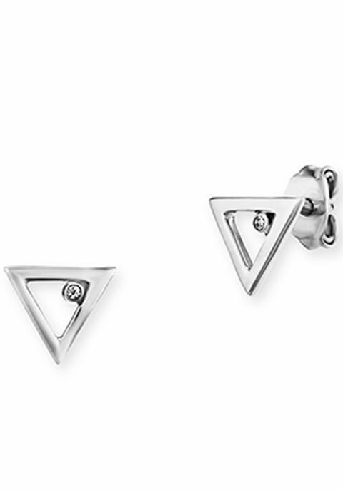 CAÏ Paar Ohrstecker »C7193E/90/03« mit Zirkonia in Silber 925