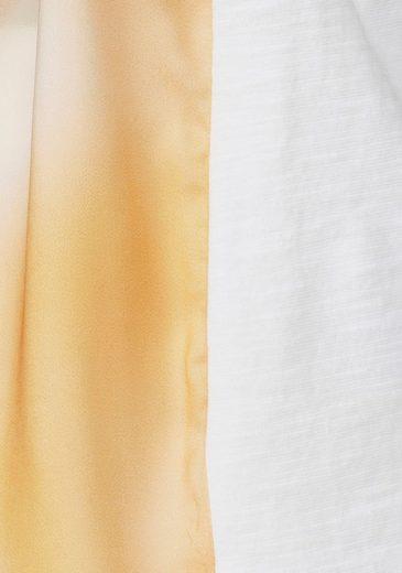 Basler Blusenshirt, mit kunstvollem Frontdruck