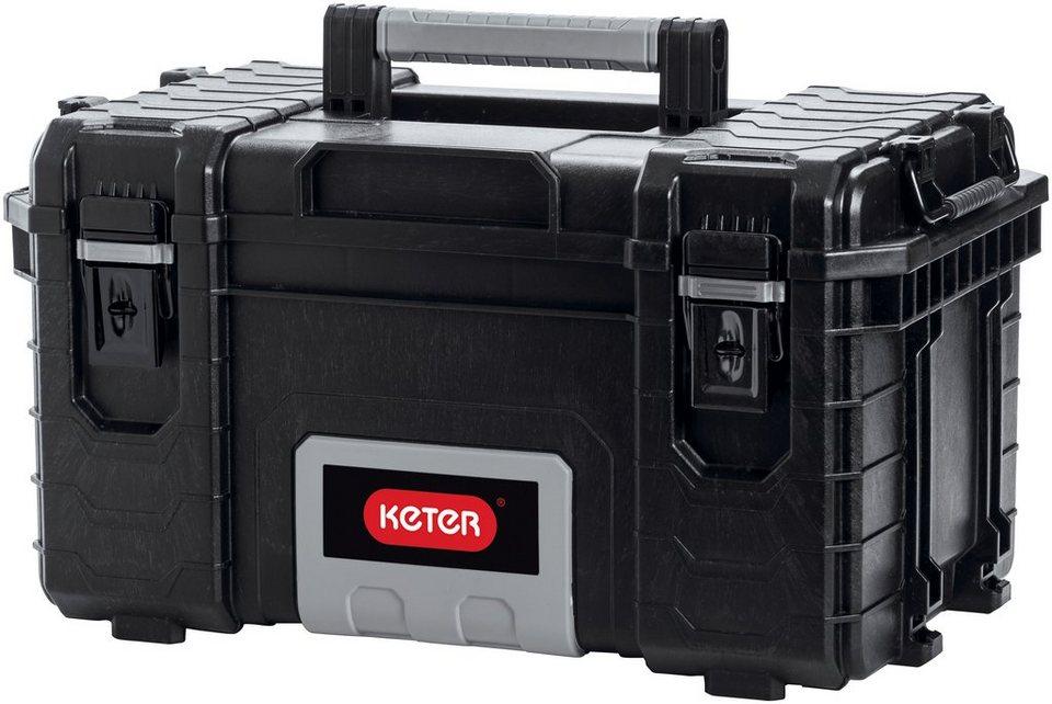Werkzeugkoffer »Pro Gear Organizer« in grau