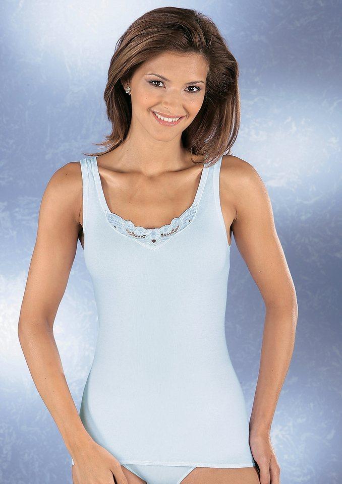Hemd, Schiesser (2 Stck.) in weiß