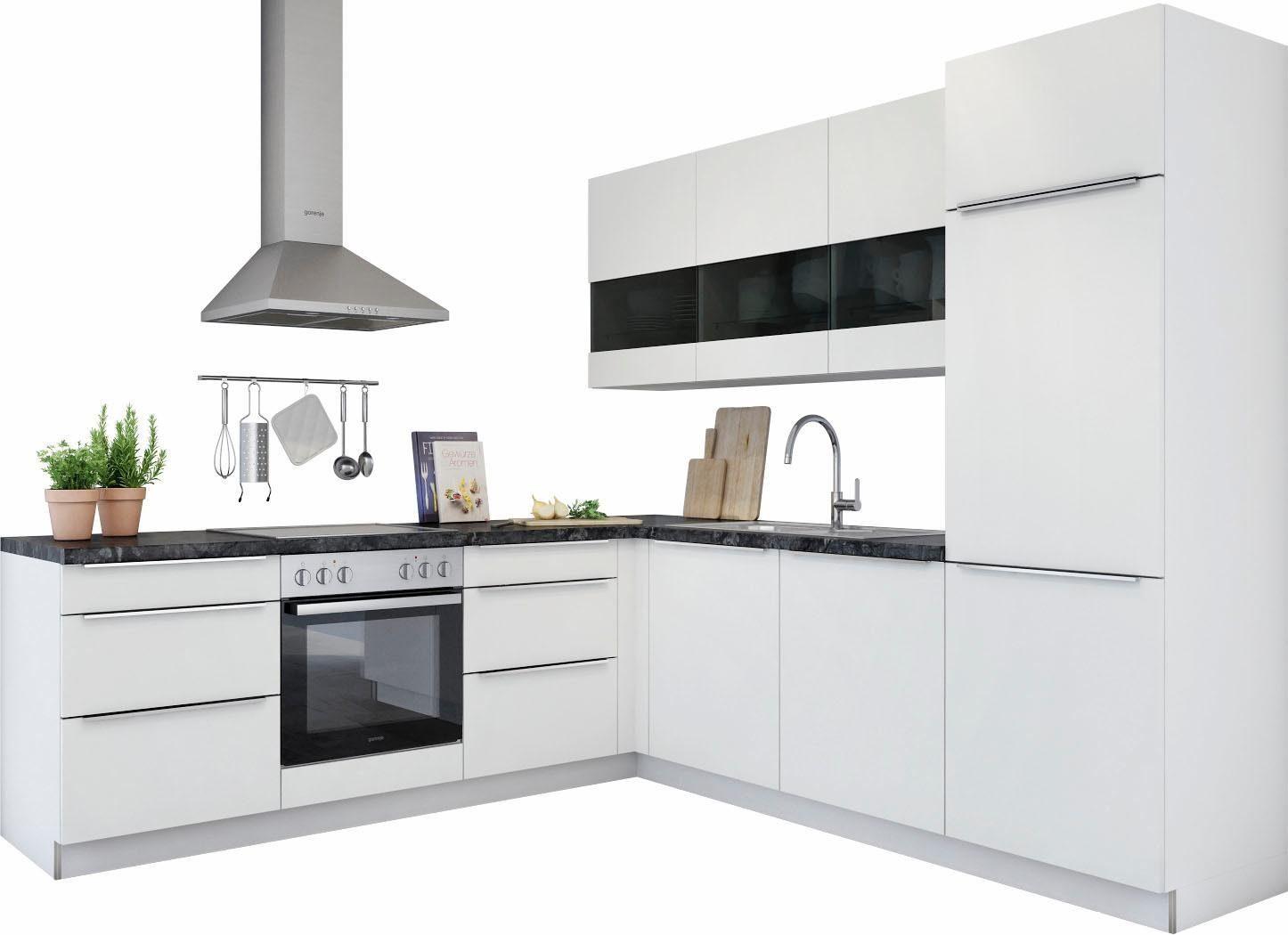 Kleine Küche Ohne E Geräte ~ set one by musterring winkelküche ohne e geräte lucca , breite 245×245 cm online kaufen otto