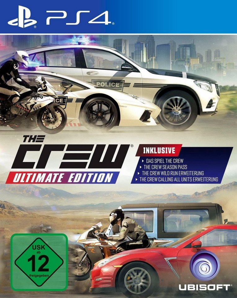 The Crew Ultimate Edition PlayStation4