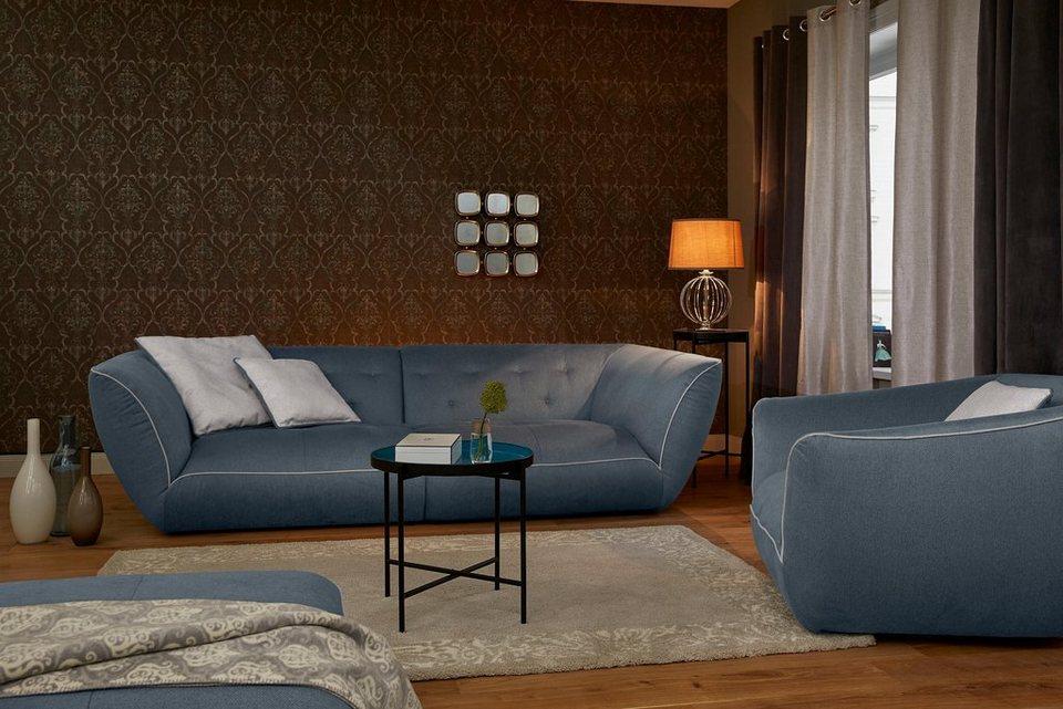 GMK Home & Living Megasofa »Nida«, inklusive Zierkissen online ...
