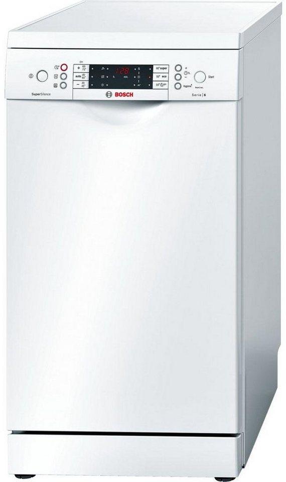 BOSCH Geschirrspüler SPS69T82EU, A+++, 9,5 Liter, 10 Maßgedecke in weiß