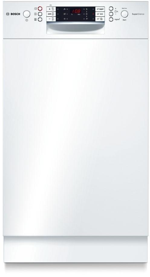 BOSCH Unterbaugeschirrspüler SPD69T82EU, A+++, 9,5 Liter, 10 Maßgedecke in weiß