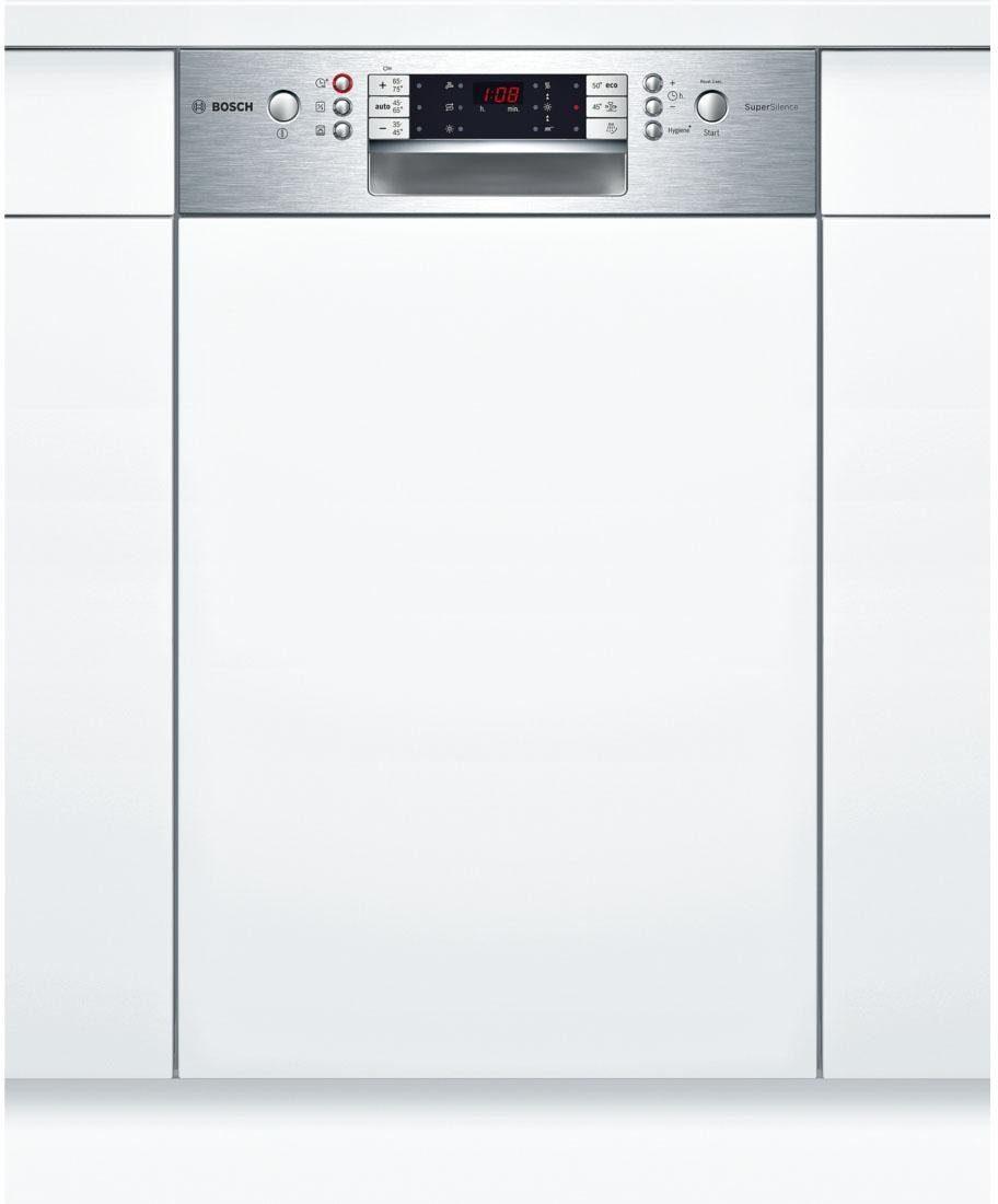 BOSCH Teilintegrierbarer Geschirrspüler Serie 6 SPI65T75EU, A++, 8,5 Liter, 9 Maßgedecke