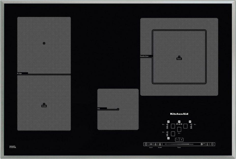 KitchenAid Induktionskochfeld KHIP4 77510 in schwarz