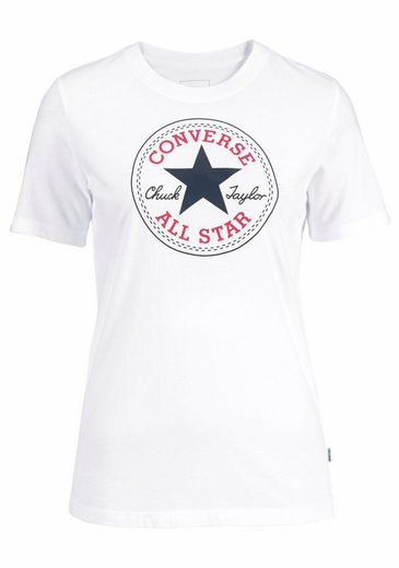 Converse T-Shirt CORE SOLID CHUCK PATCH CREW