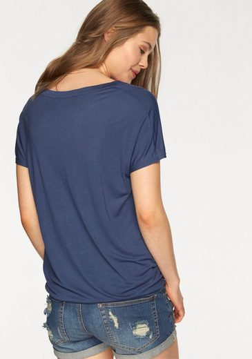 LASCANA Shirts (2 Stück) mit tiefem V-Ausschnitt
