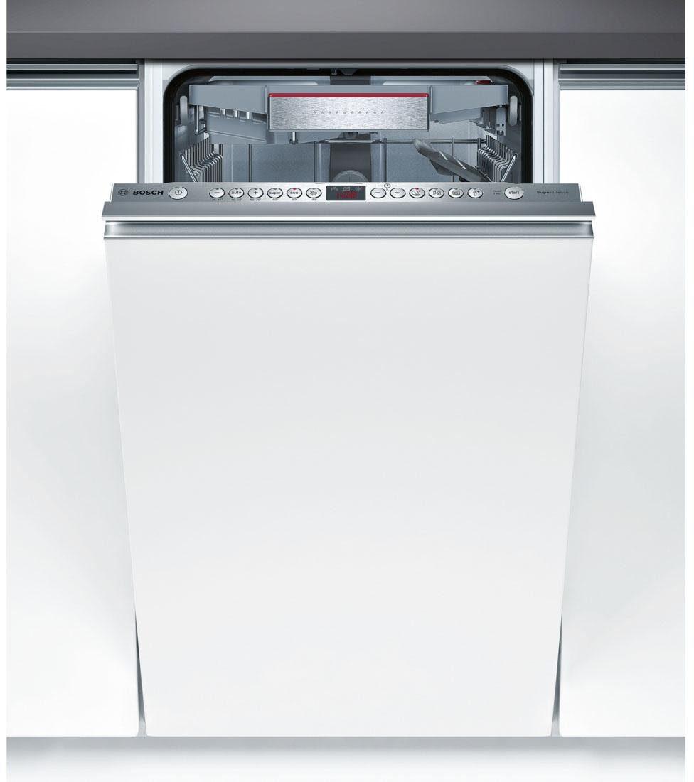 BOSCH Vollintegrierbarer Einbaugeschirrspüler Serie 6 SPV69T80EU, A+++, 9,5 Liter, 10 Maßgedecke