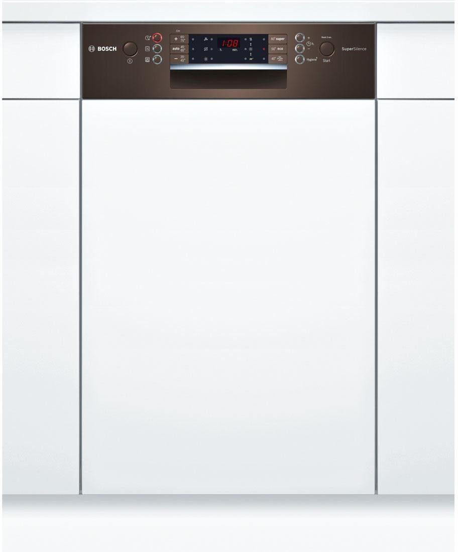 BOSCH Teilintegrierbarer Geschirrspüler SPI69T84EU, A+++, 9,5 Liter, 10 Maßgedecke