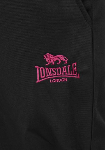Lonsdale Trainingsanzug TRAININGSANZUG SCHWARZ