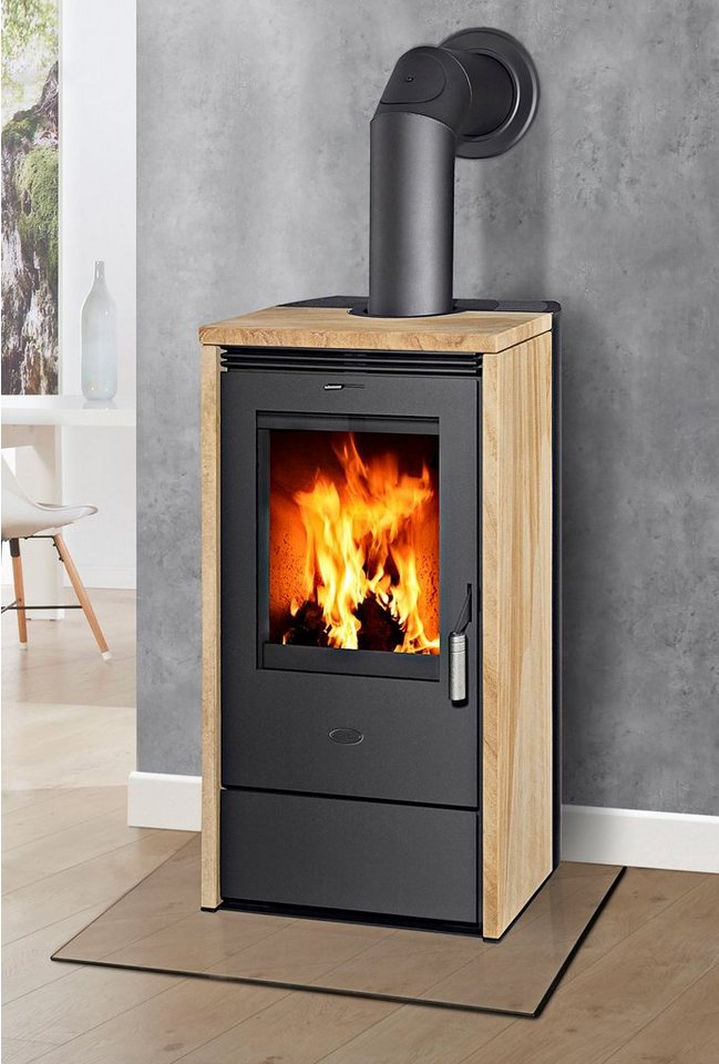 fireplace kaminofen madrid 2014 sandstein 6 kw dauerbrand automatik online kaufen otto. Black Bedroom Furniture Sets. Home Design Ideas