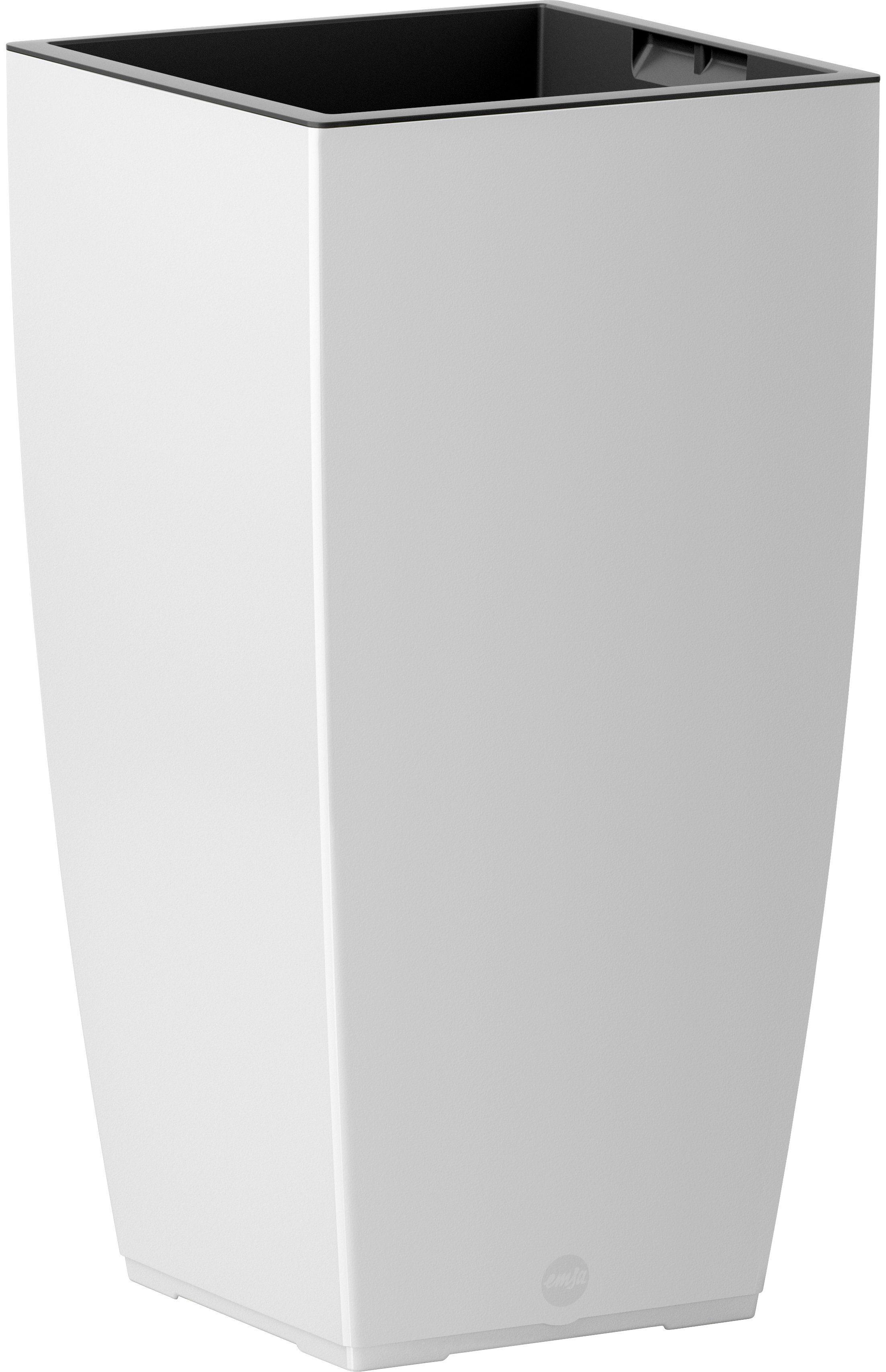 Blumenkasten »CASA Matt Säule«, BxTxH: 30x30x57 cm, weiß