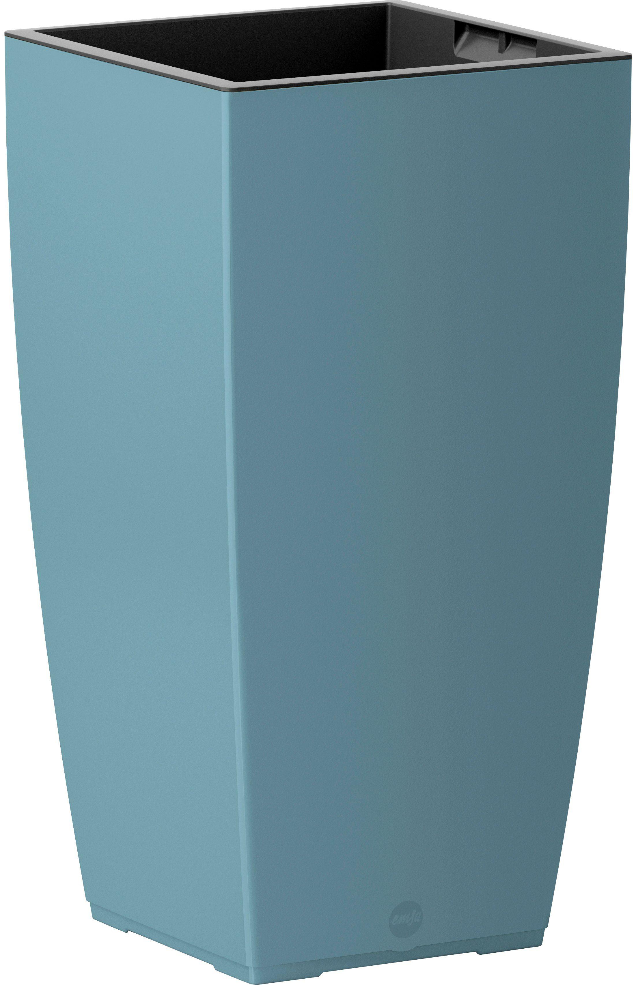 Emsa Blumenkasten »CASA Matt Säule«, BxTxH: 30x30x57 cm, altblau