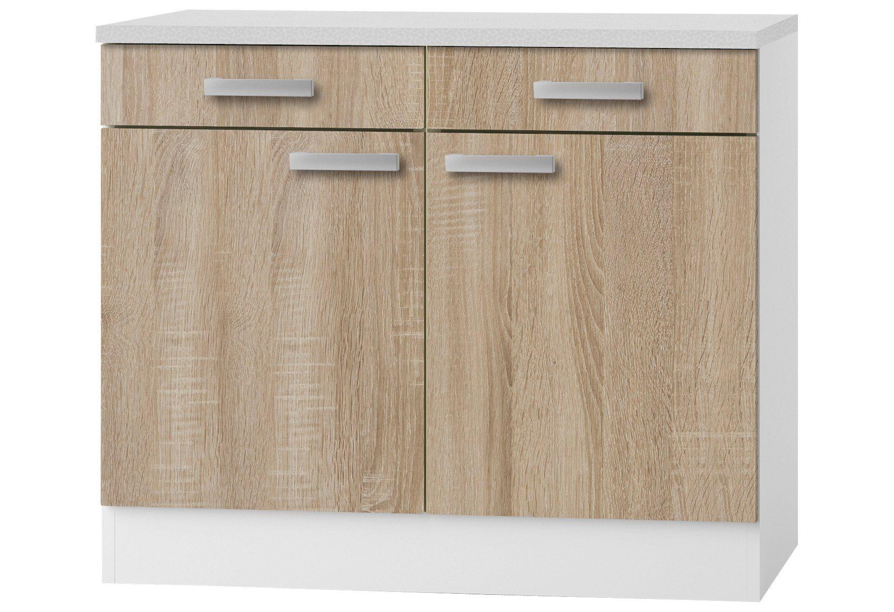 Ordentlich OPTIFIT Küchenunterschrank »Helsinki, Breite 100 cm« online kaufen  LW71
