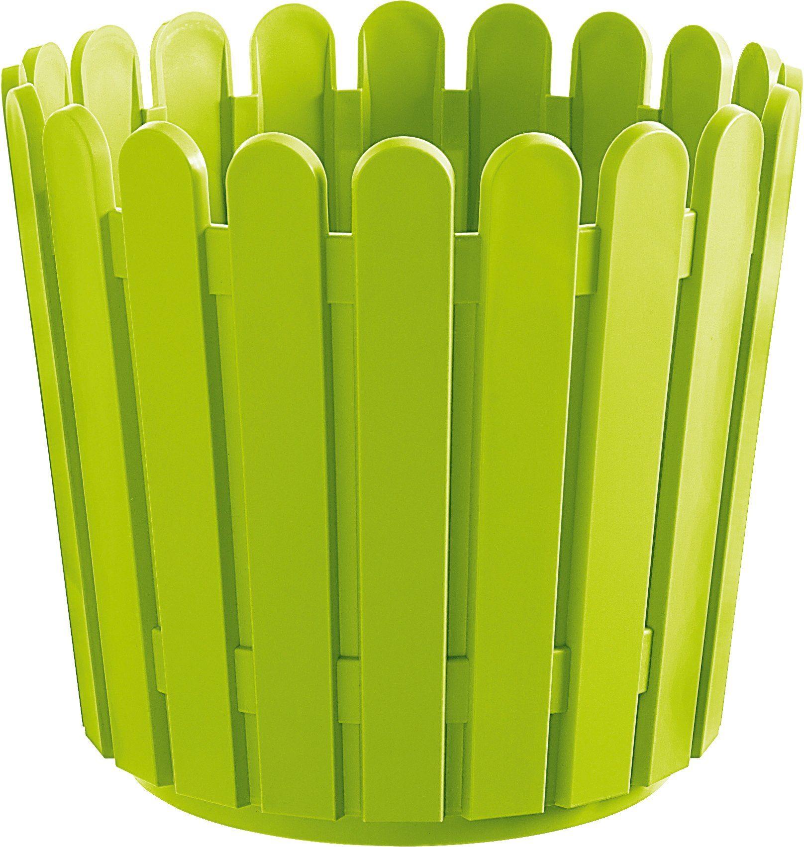 Blumenkasten »LANDHAUS«, Ø/H: 30/27 cm, grün