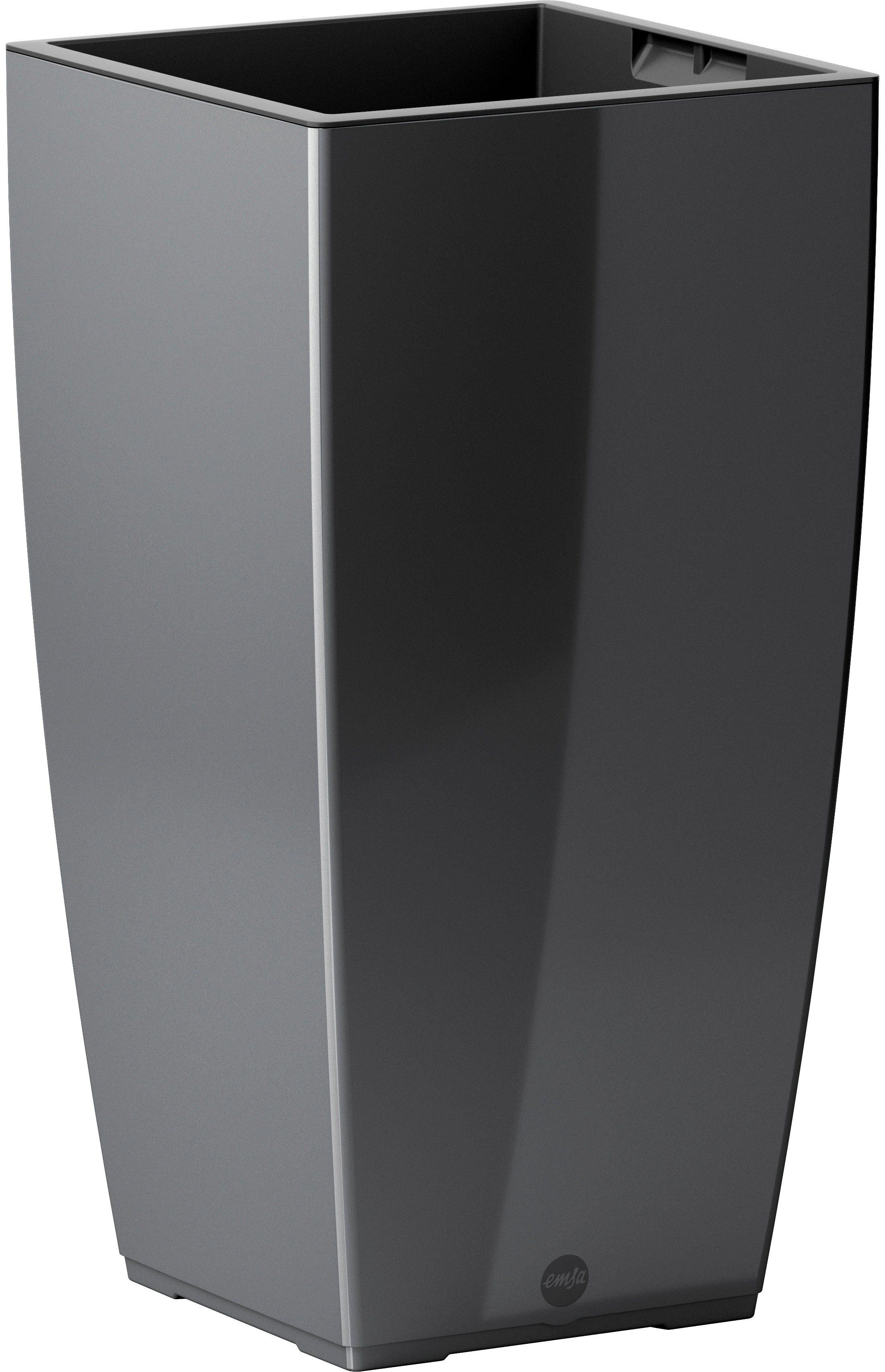 Blumenkasten »CASA Brilliant Säule«, BxTxH: 30x30x57 cm, granit