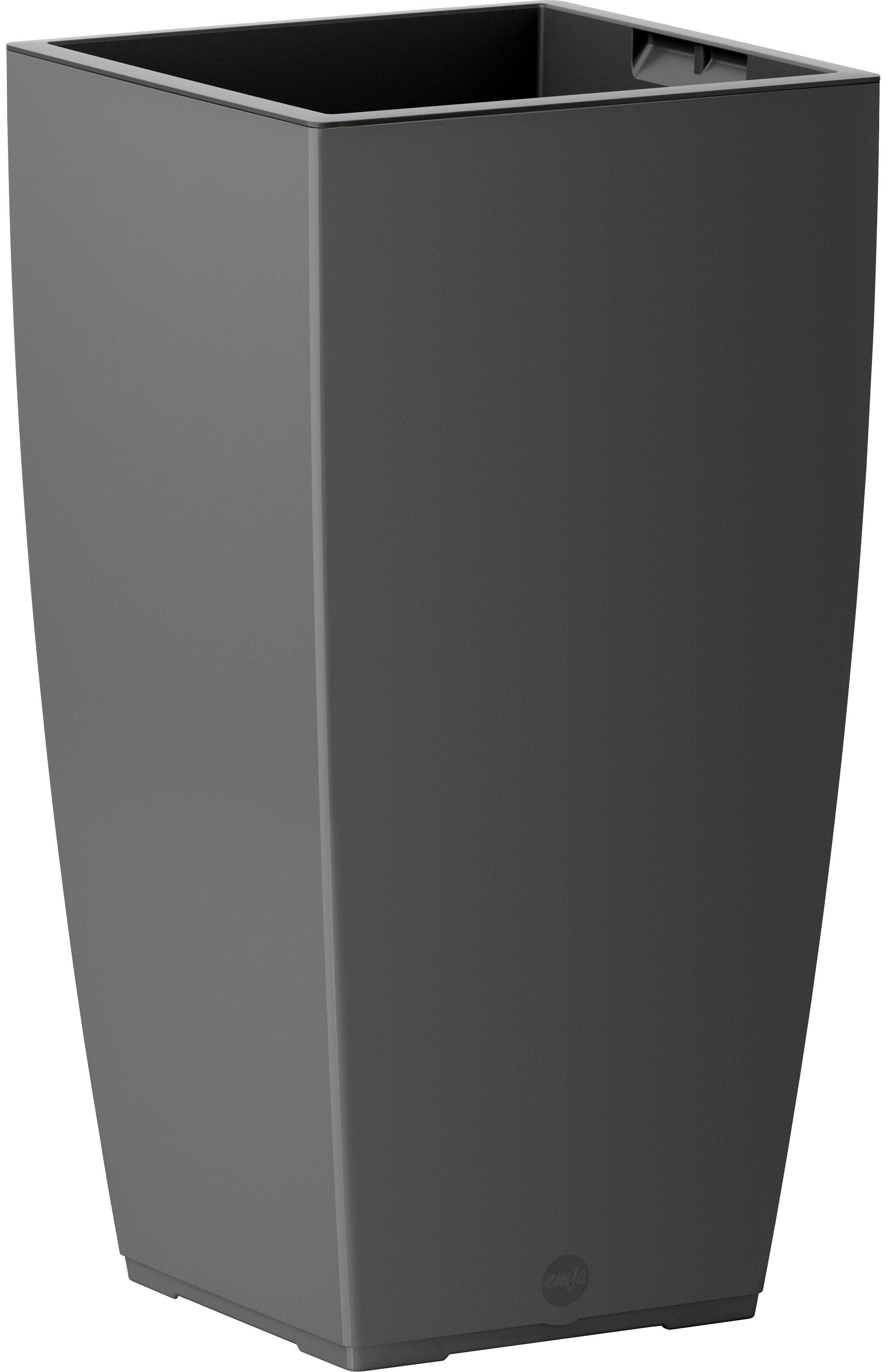 Blumenkasten »CASA Matt Säule«, BxTxH: 30x30x57 cm, granit