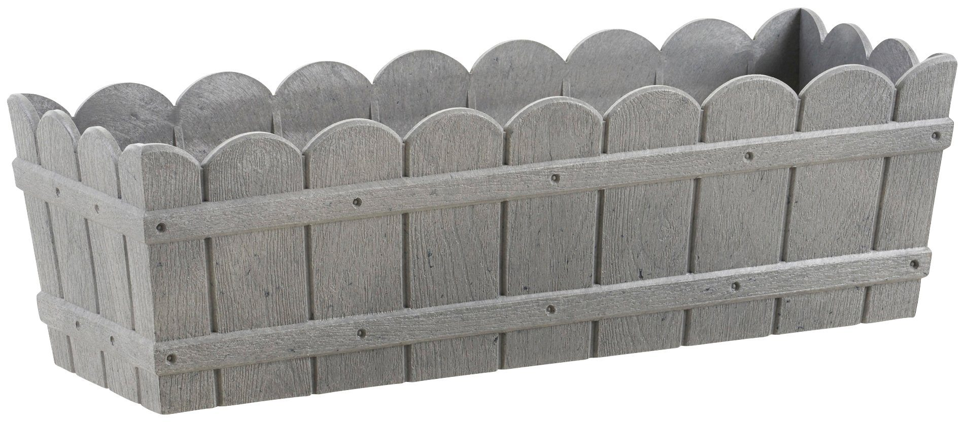 emsa blumenkasten country bxtxh 50x17 5x15 5 cm grau. Black Bedroom Furniture Sets. Home Design Ideas