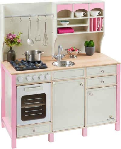 MUSTERKIND® Spielküche Aus Holz, »Salvia Creme/rosa«