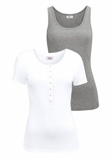 Flashlights 2-in-1-Shirt (Packung, 2 tlg)